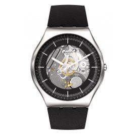 Swatch SS07S115 Irony Men's Watch Black Skeleton