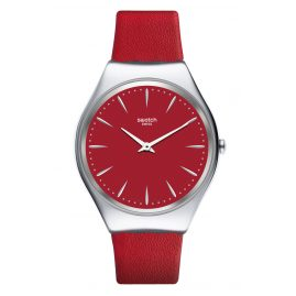 Swatch SYXS119 Skin Damen-Armbanduhr Skinrossa