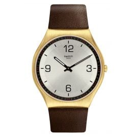 Swatch SS07G100 Armbanduhr Skin Suit Coffee