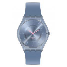 Swatch SS08N100 Ladies' Watch Skin Denim Blue