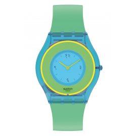 Swatch SS08Z100 Skin Women's Watch Hara Green 01