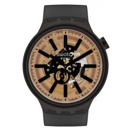Swatch SO27B115 Big Bold Wristwatch Dark Taste