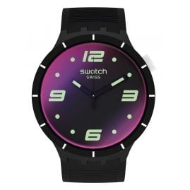 Swatch SO27B119 Herrenuhr Big Bold Futuristic Black