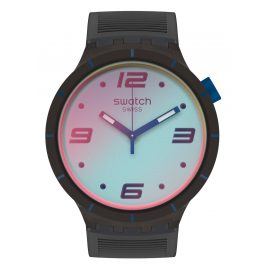 Swatch SO27B121 Herrenuhr Big Bold Futuristic Grey