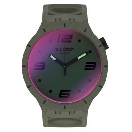 Swatch SO27M105 Herren-Armbanduhr Big Bold Futuristic Green