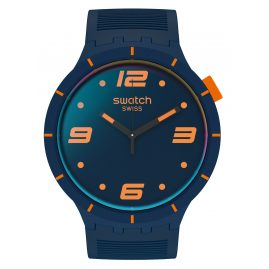 Swatch SO27N110 Herrenuhr Big Bold Futuristic Blue