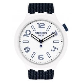 Swatch SO27W102 Big Bold Unisex-Uhr Deep Snow