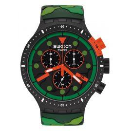 Swatch SB02B409 Big Bold Herrenuhr Chrono Escapejungle