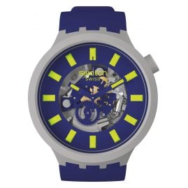 Swatch SB03M103 Big Bold Ceramic Armbanduhr Limy