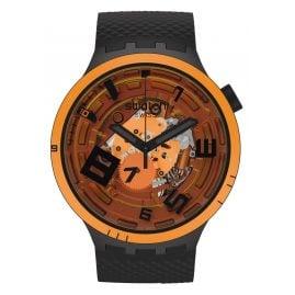 Swatch SB01B127 Big Bold Armbanduhr mit 2 Armbändern Oops!