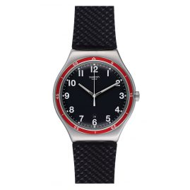 Swatch YWS417 Red Wheel Herrenuhr