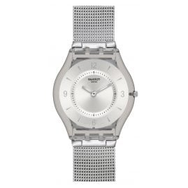 Swatch SFM118M Metal Knit Damenuhr