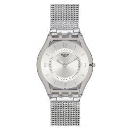 Swatch SFM118M Metal Knit Damenuhr