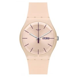Swatch SUOT700 Rose Rebel Damen-Armbanduhr