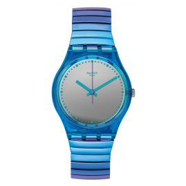 Swatch GL117B Ladies Watch Flexicold S with Elastic Bracelet