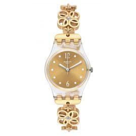 Swatch LK360G Coup de Fleur Damenarmbanduhr