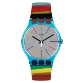 Swatch SUOS106 Colorbrush Ladies Wrist Watch
