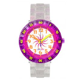 Flik Flak FCSP034 Swirly Glitter Girls Watch