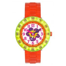 Flik Flak FCSP030 Chewy Orange Girls Watch