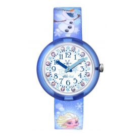 Flik Flak FLNP023 Disney Frozen Elsa & Olaf Kids Watch