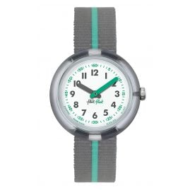 Flik Flak FPNP022 Green Band Kids Watch