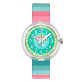 Flik Flak FPNP014 Stripy Streams Watch for Girls