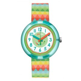 Flik Flak FPNP015 Sweet Flags Wrist Watch for Girls