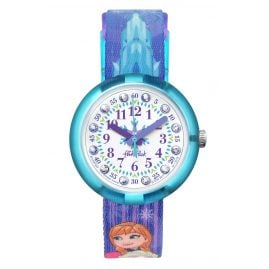 Flik Flak FLNP027 Girls Watch Frozen Elsa & Anna