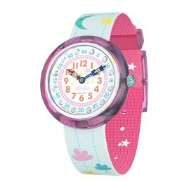 Flik Flak FBNP120 Girls' Watch Hanging Clouds