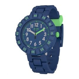 Flik Flak FCSP086 Children's Watch Solo Dark Blue