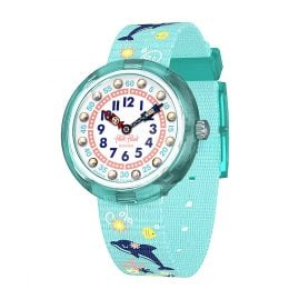 Flik Flak FBNP124 Girls' Watch Sweet Dolphin
