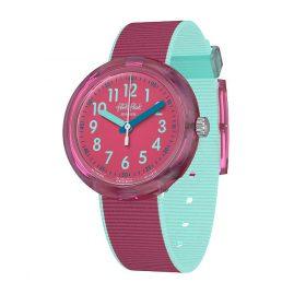 Flik Flak FPNP047 Kinder-Armbanduhr Color Blast Pink