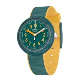 Flik Flak FPNP048 Kids Wristwatch Color Blast Green