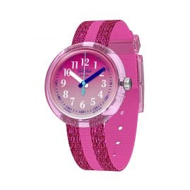 Flik Flak FPNP053 Kids' Wristwatch Pink Sparkle