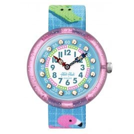 Flik Flak FBNP154 Mädchen-Uhr Splashtastic