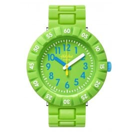 Flik Flak FCSP097 Children's Watch Solo Green
