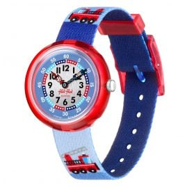Flik Flak FBNP160 Kids Watch Firetruck