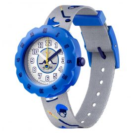 Flik Flak FPSP046 Kids' Watch for Ice Hockey Fans Puck It