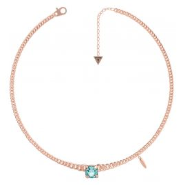 Guess UBN20060 Women's Necklace Rose Gold Plated Lady Luxe