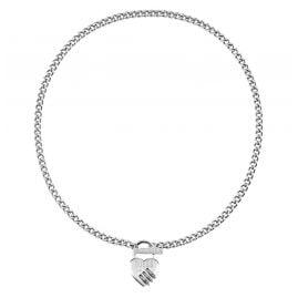 Guess UBN20049 Ladies' Necklace Heart Padlock Lock Me Up