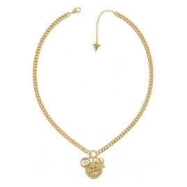 Guess JUBN70039JW Damen-Kette Trust Your Heart Vergoldet