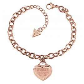 Guess UBB28019-L Bracelet Rose Gold Plated Follow My Charm