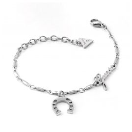 Guess UBB29006-S Women's Bracelet Stainless Steel Get Lucky