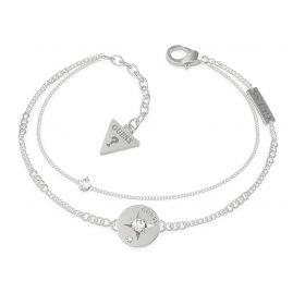 Guess JUBB20018 Damen-Armband Edelstahl Compass & Crystal