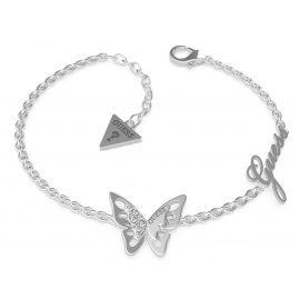 Guess JUBB70115JW Damen-Armband Butterfly Charm