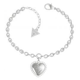Guess JUBB01077JW-RH Damen-Armband Central Heart