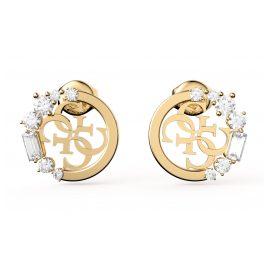 Guess JUBE01114JW-YG Women's Earrings Studs Gold Tone