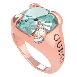 Guess UBR20029 Damen-Ring Edelstahl roségold Lady Luxe