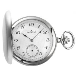 Dugena 4460500 Mechanical Pocket Watch with Chain