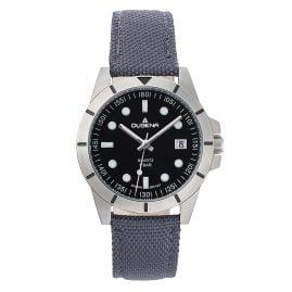 Dugena 4461063 Unisex-Uhr Keno mit Nylonband Grau